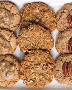 Maple-Walnut Oatmeal Cookies Recipe