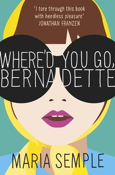 """Where'd You Go, Bernadette  A funny, touching and at times tragic story of a unique, crazy family.  A wonderful story for contemporary fiction fans (both adult and YA) who love mother-daughter stories with a twist.  Told at times in an e-mail format, I found this novel refreshing, light, dark, quirky and """"un-put-downable."""""""
