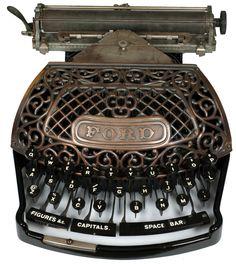 Ford typewriter - 1895