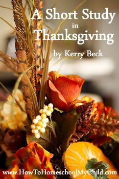 free Bible study on Thanksgiving    (using Philippians)