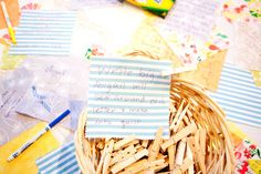 Linds, do you love this idea?!  Forget guest book at your wedding, have everyone sign a square for a cute quilt!