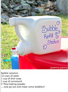 How To Make Bubbles.