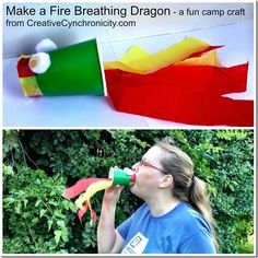 Make a fire breathing dragon