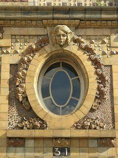 Paris window detail.