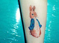 beatrix potter tattoo, peter rabbit tattoo