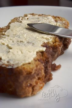 Amish Cinnamon Bread. No kneading, you just mix it up and bake it!