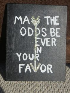 SOLD Hunger Games Inspired Painted Canvas by MyCanvasDesigns, $40.00