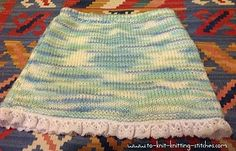 short-skirt-with-lacy-edge by Khorat-knit, via Flickr