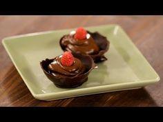 Sew Crafty Angel: How To Make Chocolate Dessert Bowls