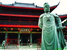 Statue of Admiral Zheng He.