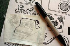 paper craft, paper sticker, vinyl sticker, crafti stuff, contact paper, papers, buttons, diy vinyl, diy stuff