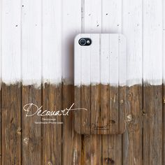 Wood iPhone 4 case, iPhone 4s case, Wood pattern S009. $26,99, via Etsy.