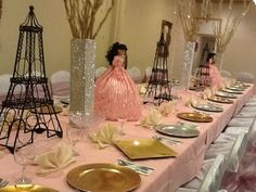 The decoration for your dream quinceanera!!!!!