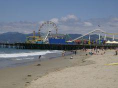Santa Monica Pier. Santa Monica, Ca.