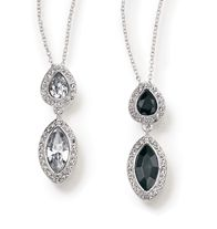 """Utopienne Necklace - Faux stones with rhinestones set in silvertone. 16 1/2"""" L with 3 1/2"""" extender. Regularly $19.99, buy Avon Jewelry online at http://eseagren.avonrepresentative.com/"""