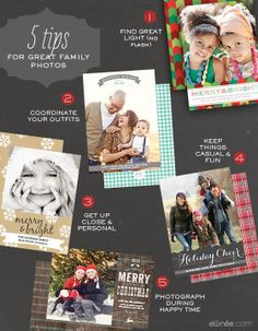 5 tips for your photo Christmas cards