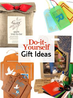 More than just a present, these craft kits will pass along the joy that comes from making a one-of-a-kind piece.    #holiday #gifts #diy