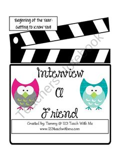 Student Interviews from 123TeachWithMe on TeachersNotebook.com (6 pages)  - Student Interviews: Beginning of the Year