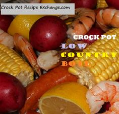 Crock Pot Recipe Exchange: Crock Pot Low Country Boil