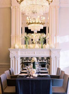 #dining #interiors #mirror #glam
