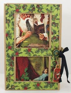 Graphic 45 Christmas Emporium Banner in a Box — Free Downloadable Project Sheet