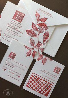 Christmas Invitation by Dingbat Press