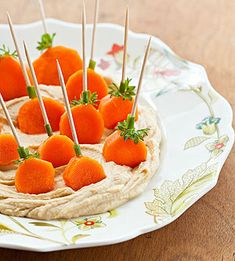 Pumpkin Patch Dippers: Orange you glad to have a healthy snack to serve your kids? #eatcleanpinparty