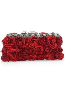 Rosette Clutch by Valentino.