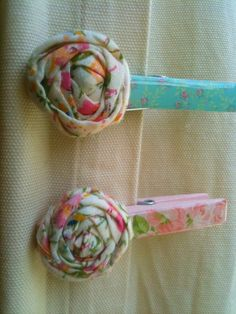 Shabby Chic Clothes Pins by candaspayne on Etsy, $5.00