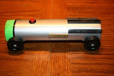 Pinewood Derby car ~ Star Wars - light saber