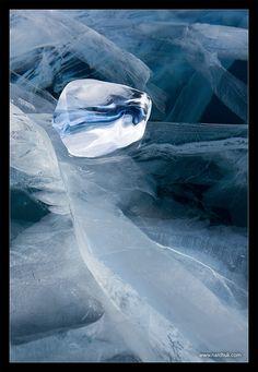 Baikal ice magic, Russia