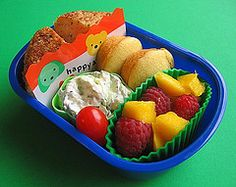 preschool lunches ...many are asian specialties but still lots of easy ideas too lunch idea, bento box, kid lunches, salad recipes, lunch boxes, mini muffins, preschool lunch, salmon cakes, box lunches