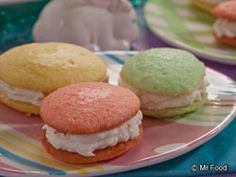 food recipes, easter recipes, sandwich, dessert recipes, dessert buffet, whoopi pie, cooki, easter eggs, whoopie pies