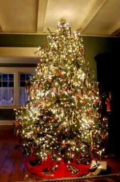 German Christmas Tree Glass Decorations