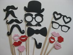 Photo Booth Props (easy diy)