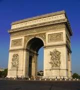 Arc de Triomphe and the Champs-Elysées (Paris, France)