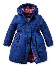 Loving this Blue Animal Claartje Coat - Girls on #zulily! #zulilyfinds
