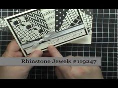 card making video tutorial ... Easy Starburst (Sunburst) Card Technique ... by Dawn Olchefske ... beautiful card ... too easy for such an awesome look ... like Dawn's tips ... shows other examples at the end ... Stampin' Up!