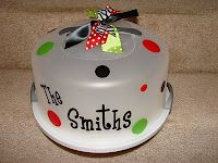 Purdy Personalized: Cake Carriers