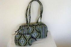 Vera Bradley Purse and Cosmetic Bag | eBay $19.95