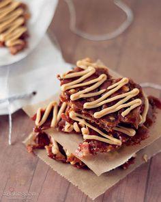 Bacon Peanut Butter Brittle