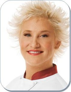 "Chef Anne Burrell, ""Secrets of a Restaurant Chef"" and ""Worst Cooks of America"""