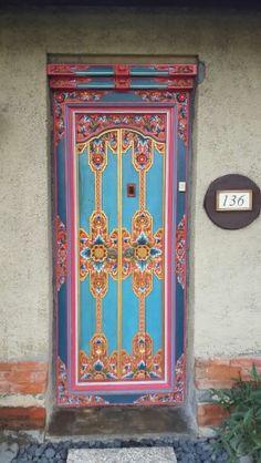Bali door - so beautiful.