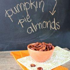 Pumpkin Pie roasted almonds.