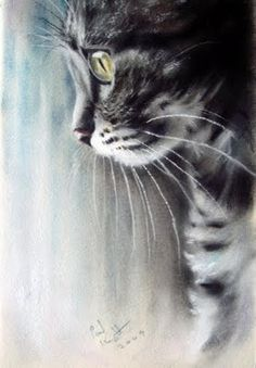 Pastel Paintings by Paul Knight.