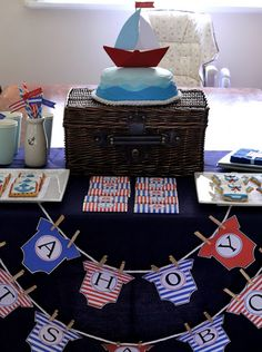 butter hearts sugar: Ahoy Its A Boy Baby Shower