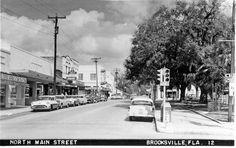 Brooksville Main Street by ghs1922, via Flickr