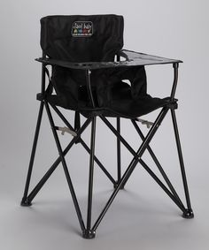travel high chair that folds up like camp chair