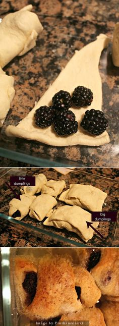 dumpl dessert, blueberri, desert, dessert recipes, blackberries recipes, blackberri recip, blackberri dumpl
