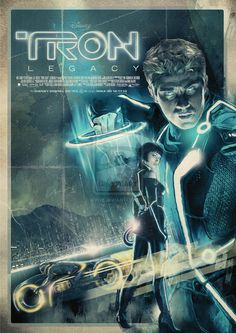 Awesome #artwork for #Tron